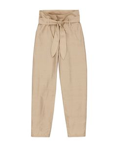 JUDE - Paperbag waist pants - Gold Evening Cocktail, Beige, Khaki Pants, Pajama Pants, Sweatpants, Model, How To Wear, Shirts, Style