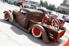 Oh man...love these both! Ratrod motorcycle