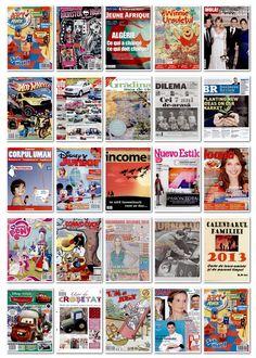 2012.11.15 - coperti editii noi reviste romanesti si internationale