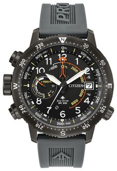Citizen Men's Eco-Drive Promaster Altichron Watch, Black Size: One Size Fits All Sporty Watch, Casio Protrek, Citizen Eco, Tag Heuer, Watch Brands, Cool Watches, Stylish Watches, Luxury Watches For Men, Men's Watches