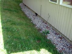 Sump pump drainage ideas new home pinterest pump for Yard drainage slope