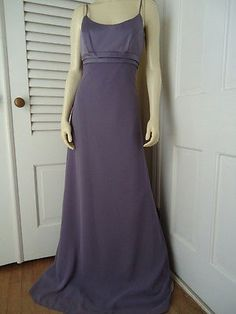 ALFRED ANGELO Gown 2 NEW Lavender Victoria Long Dress Prom Wedding Bridesmaid