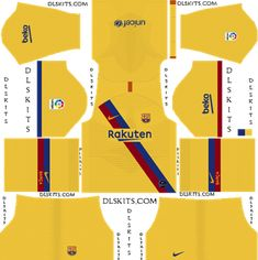 Barcelona dream league soccer kits and logo. Get the home, away, and third DLS 19 kits of Barca football club free. Barcelona Third Kit, Barcelona Football Kit, Barcelona Futbol Club, Barcelona Champions League, Barcelona Jerseys, Barcelona Soccer, Soccer Kits, Play Soccer, Football Kits