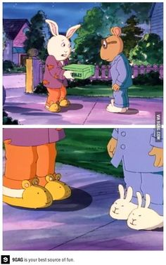 Best friends wear each other on their feet.
