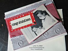 Congratulations Baby Vintage Greeting Card by foundcards on Etsy