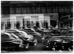 Detroit, Michigan, silver gelatin print This photograph is a part of an exhibition that celebrates photographer Harry Callahan's timeless experiments with street photography. Multiple Exposure, Double Exposure, White Photography, Street Photography, Straight Photography, Exposure Photography, Monochrome Photography, Artistic Photography, Vintage Photography