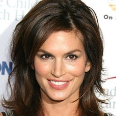 layered hair Cindy Crawford always looks amazing -- but we especially love her layered look here. Such amazing volume! My Hairstyle, Prom Hairstyles, Celebrity Hairstyles, Pretty Hairstyles, Hairstyle Ideas, Blowout Hairstyles, Long Shag Hairstyles, Casual Hairstyles, Hair Ideas