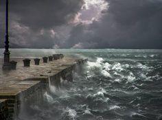 Stormy Seas. http://www.saatchiart.com/Lloydg