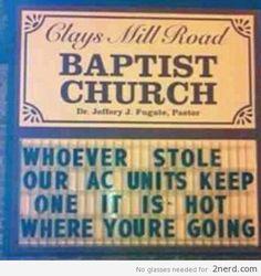 funny church signs - Bing Afbeeldingen