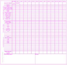 Eastern Skin: Fitness goal tracking insert for filofax personal size planner- number 1... ... Very interesting ... Definitely going to do something similar for  me (read 06/30/2013 - ThT)