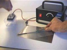 ▶ Electrolytic Metal Etching setup and marking demonstration - YouTube
