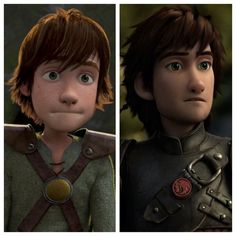 Hiccup: Before and After........ I'm in LUV!