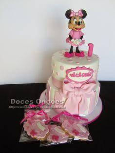 Doces Opções: A Minnie no primeiro aniversário da Victoria