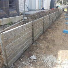 Ridgi Timber Look Concrete Sleeper Amp Steel Gal Post