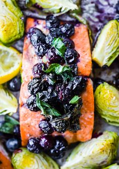 Superfood Baked Salmon! Paleo & Whole 30 dairyfree and gluten-freeanti-inflammatory meal plan