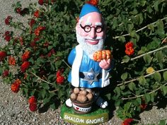 The Shalom Gnome is taking over Hanukkah! $43 See more here: http://www.kickstarter.com/projects/1240418659/shalom-gnome-and-gnomeheart-the-coolest-garden-gno