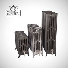 Buy Georgia radiator 6 column 660mm high, Victorian cast iron radiators - Our Georgia 6 column 660mm high cast iron radiators use a traditional Arts and Crafts design. We offer a choice of 3...