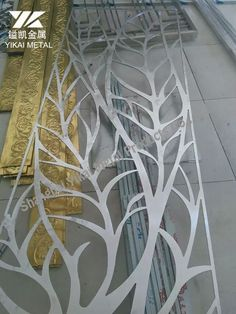 Chinese manufacturer of laser cut screens and modern metal furniture, specialize in custom design decorative metal products and ship worldwidely. Laser Cut Screens, Laser Cut Panels, Laser Cut Metal, Laser Cutting, Metal Stair Railing, Railings, Wood Stove Surround, Stainless Steel Screen, Metal Screen