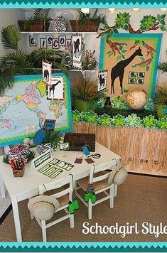A Jungle-Themed Classroom | 30 Epic Examples Of Inspirational Classroom Decor