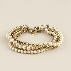Chain-wrapped pearl bracelet  was$48.00  now$29.99