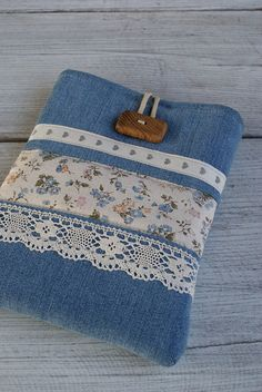 Apple iPad mini Case Sleeve Cover/ denim by sandrastju on Etsy