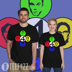 Shop 8 bit, anime and more TeeFizz at dropthetee: Cool vintage t-shirts for unique people TeeFizz is the place for awesome pop-culture inspired t-shirts with fanta Big Bang Theory Shirts, 8 Bit, Pop Culture, Mens Tops, T Shirt, Black, Supreme T Shirt, Tee Shirt, Black People