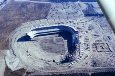 Anaheim Stadium under construction - 1965