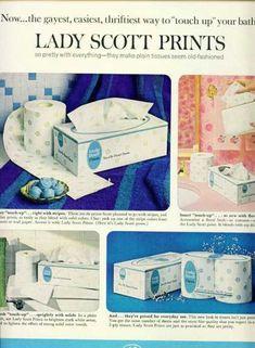 Printed toilet paper - I remember.