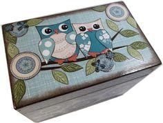 File Box Recipe Box  Address Index Card Box by GiftsAndTalents