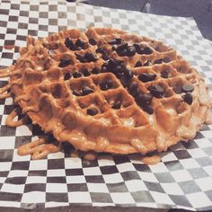 Best way to start your day is with a delicious waffle! #culturedcoffeeandwaffles #radcanton #waffles #coffee