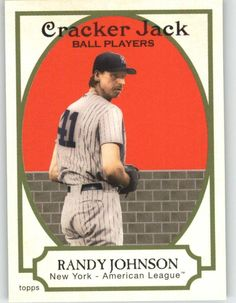 2005 Topps Cracker Jack Mini Stickers 150 Randy Johnson - Arizona Diamondbacks (Baseball Cards) >>> You can find out more details at the link of the image.
