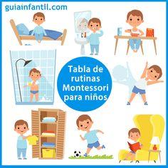 4 Kids, Children, Rules For Kids, Visual Schedules, Kids And Parenting, Activities For Kids, Kindergarten, Preschool, Dads