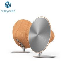 CrazyCube SOLO ONE Wooden Bluetooth Speaker Wood Coat Wireless Altavoces Surround Sound Touch NFC pk JBL Flip charge 2 pulse 2