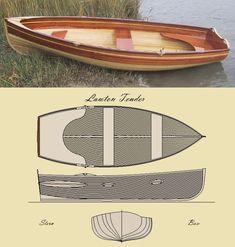 'The Lawton Tender' Row Boat Kit