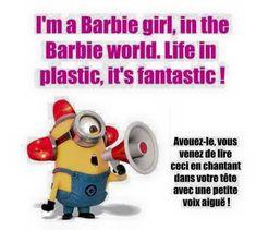 i'm a barbie girl, in the barbie world...