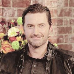 Richard Armitage and a Belstaff Jacket.