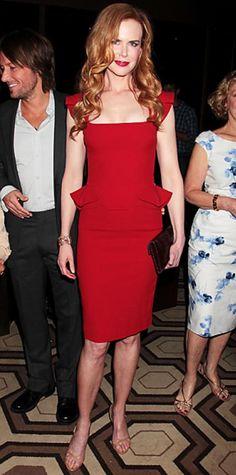 """Nicole Kidman in Elie Saab Resort 2012 at the N.Y. screening of """"Snow Flower and the Secret Fan"""", July 2011"""