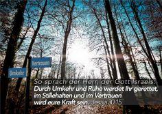 Thomaskirche Jahresvers: Jesaja, 30.15 (Jahresvers)