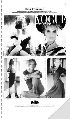 The Model Archives of Marlowe Press  Elite (Los Angeles)1990