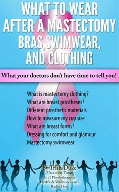 """Mastectomy Recovery"" book 6 ""What to Wear After a Mastectomy. Bras, Swimwear  Clothing"" by Trish Duke, http://www.amazon.com/dp/B00GLZ0QE8/ref=cm_sw_r_pi_dp_kiy8sb0DR1DFH"
