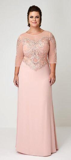 Plus Size Female Dress Form Vestidos Plus Size, Plus Size Gowns, Evening Dresses Plus Size, Evening Gowns, Plus Size Summer Outfit, Plus Size Outfits, Mom Dress, Lace Dress, Trendy Dresses