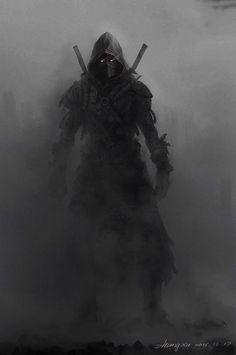Dark Fantasy Art - Trend in 2020 Dark Fantasy Art, Fantasy Kunst, Fantasy Artwork, Dark Art, Fantasy Girl, Fantasy Character Design, Character Art, Character Concept, Ninja Kunst