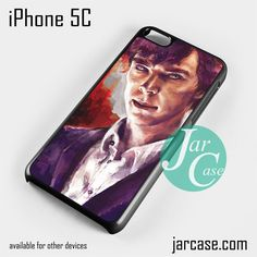 Sherlock art 2 Phone case for iPhone 5C and other iPhone devices