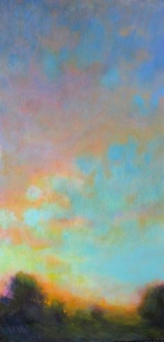 Pandora's Secret by Loriann Signori Oil ~ 24 x 8