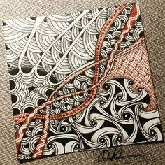 Zentangle 061516. Welcome to come to visit my FB Fan Page…