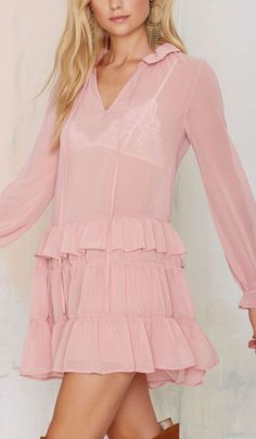 Mon Amour Ruffle Dress