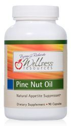 Pine Nut Oil contains a fatty acid pinolenic acid, a nutrient show to be a natural appetite suppressant. Pine Nut Oil has been shown to reduce hunger signals by 60%.