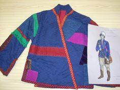 """El último jinete"" Diseño de vestuario: Yvonne Blake Vestuario: Sastrería Cornejo"