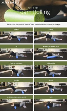 Full Body Foam Rolling Routine | Alive & Well Personal Training