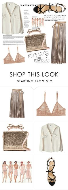"""Put a Bow on It!"" by indhrios ❤ liked on Polyvore featuring Valentino, Monki, RED Valentino, To Be Adored and Charlotte Olympia"